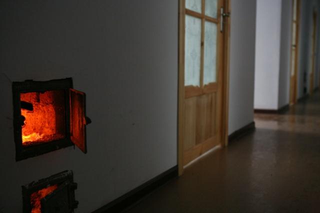 东北取暖火墙结构图