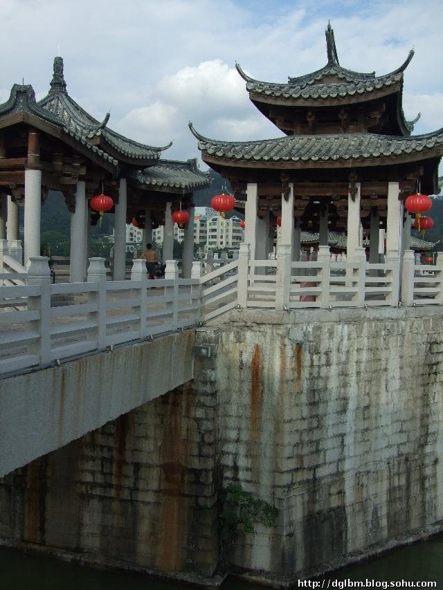 中国四大古桥 湘子桥 广济桥