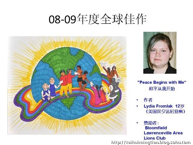 2010年和平海报设计比赛参赛要求