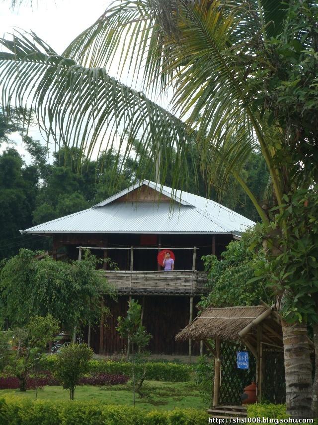 傣族楼房屋顶设计图
