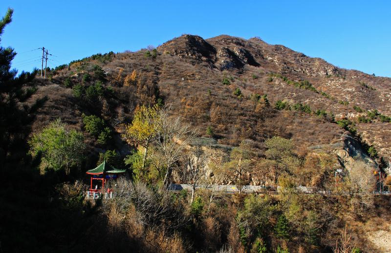 自然风景区 燕山天池即北京白河堡水库.