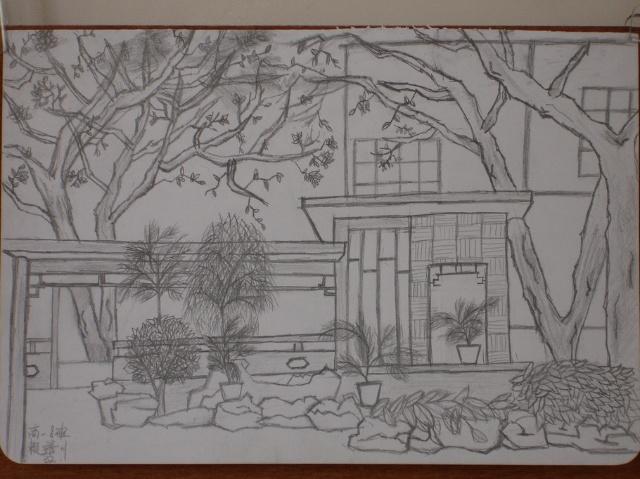 下节课就让我们来画画我们美丽的家乡! 提问:你准备表现怎样的风景?