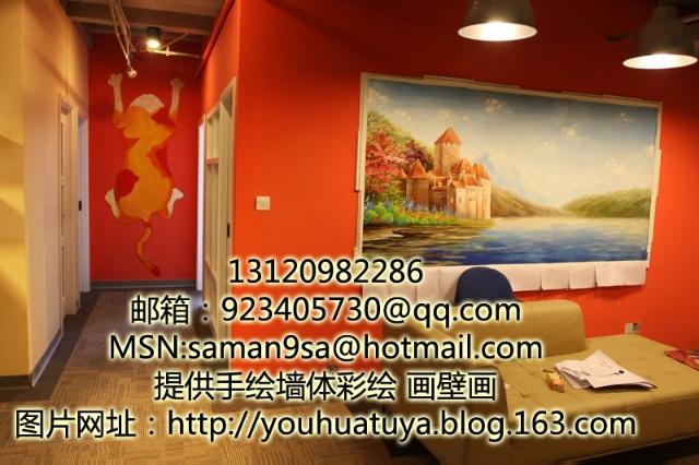 手绘家具橱柜,手绘花瓶,纯手工油画装饰画/壁画设计/建筑外墙书写绘画
