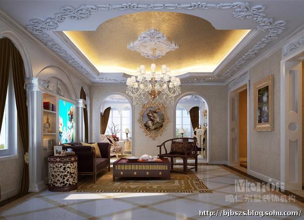 奢华欧式风格别墅设计