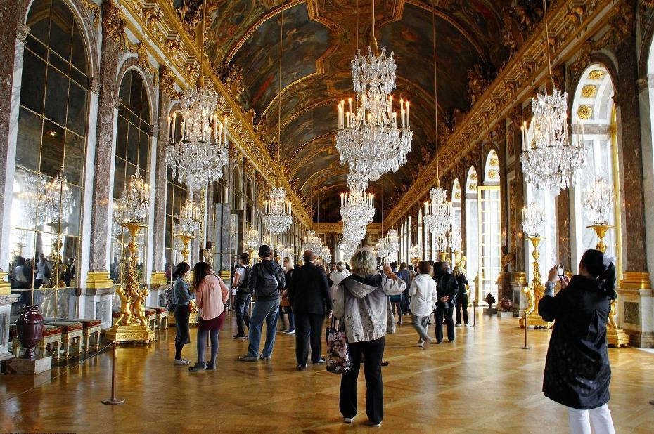 欧洲最大,最雄伟,最豪华的王室宫殿《凡尔赛宫》图片
