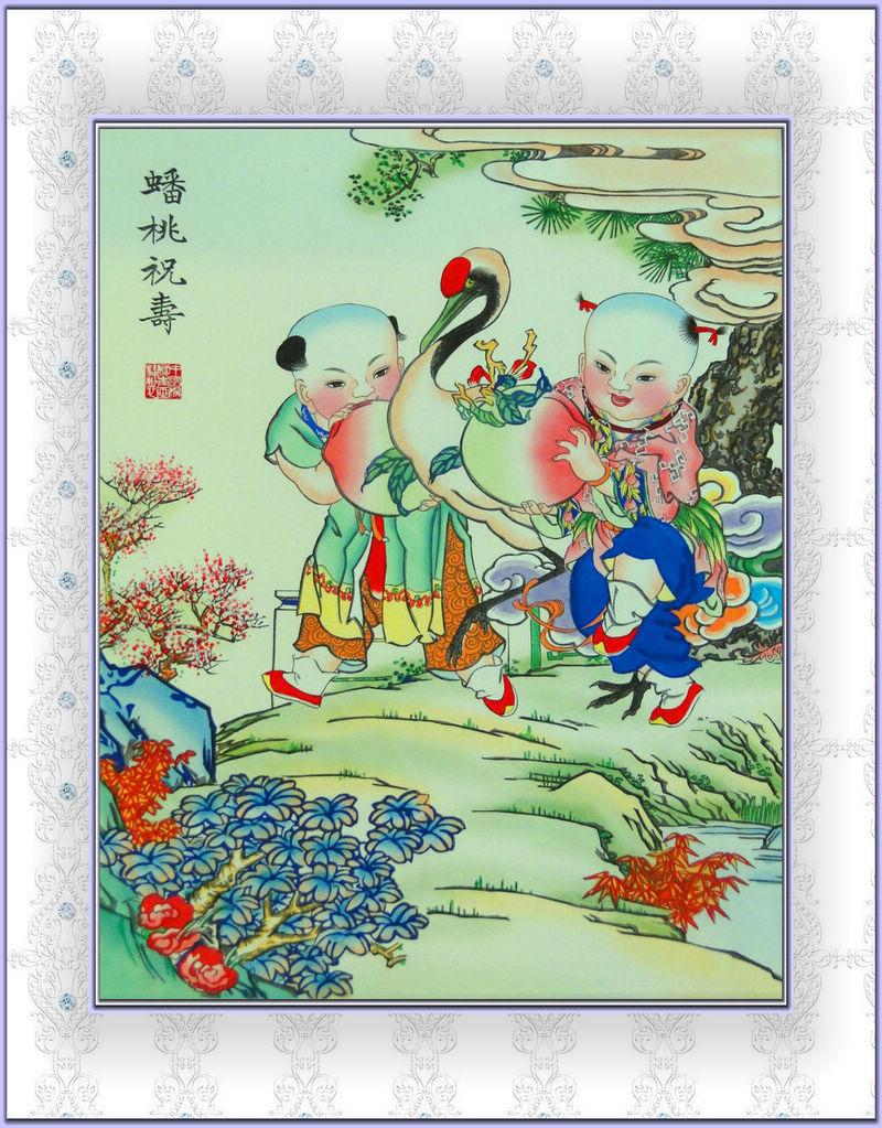 天津杨柳青木版年画博物馆(续)