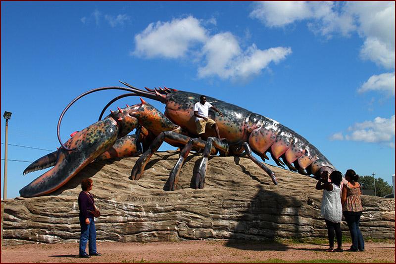 新布伦瑞克之旅(1):世界上最大的龙虾