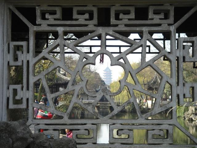 苏州园林二——漏窗