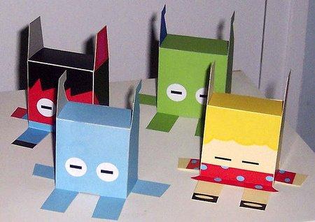 用纸盒手工做桥步骤
