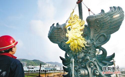 """北京有""""鸟巢""""体育场,奥运圣火传递境内首站在三亚凤凰岛"""