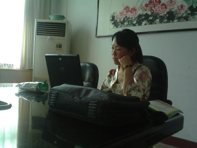 北京市仁爱教育研究所在偃师培训新教材