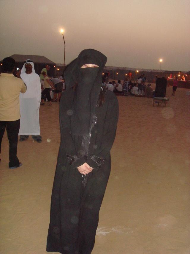 迪拜女人穿衣打扮照片