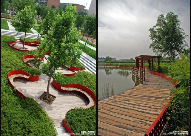 秦皇岛汤河公园红飘带