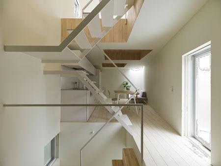 小错层台阶栏杆装修效果图