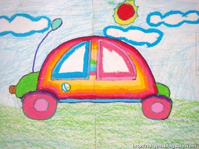 儿童水画作品_儿童树叶粘贴画图片_儿童放风筝画_儿童