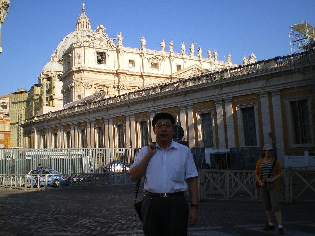 董藩:参观宗教圣地梵蒂冈 - 董藩 - 董藩 的博客