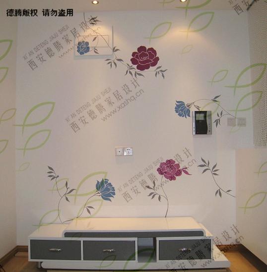 在我们为客户设计手绘墙之初