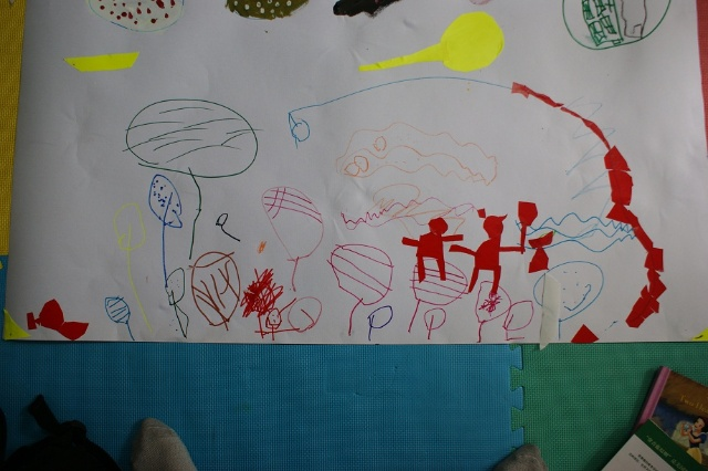 第十一次画画课 汽球