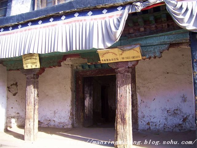好看的藏族建筑柱头装饰