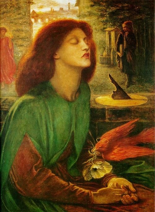 格劳科斯-(年代   但丁.加百列.罗塞蒂(1828-1882)   这一幅《   》是画家妻子