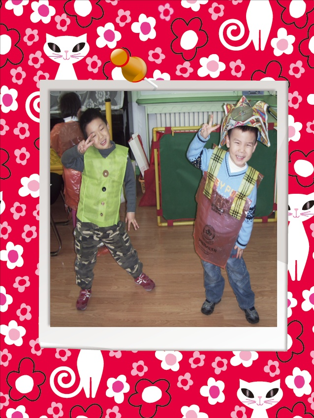 幼儿园时装表演