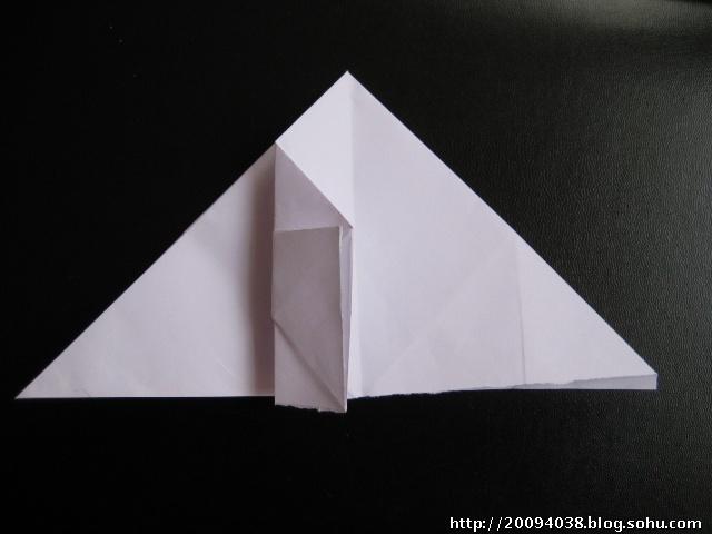 折纸亭子步骤图