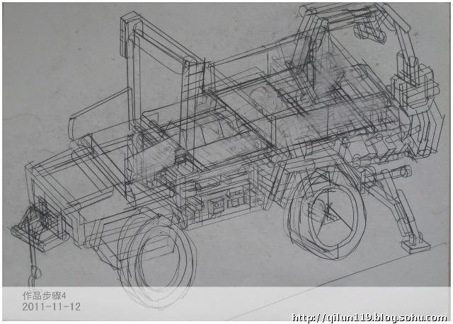 铅笔素描房子图片展示_简单铅笔素描房子图片下载