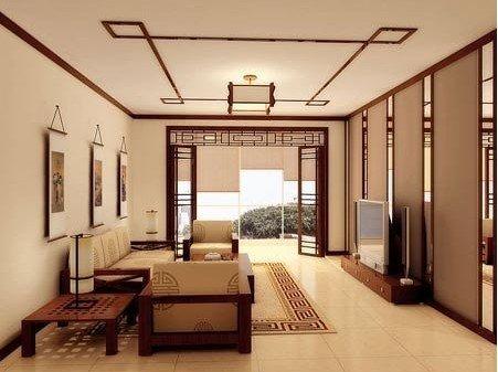 中式客厅装修效果图来瞧瞧吧!