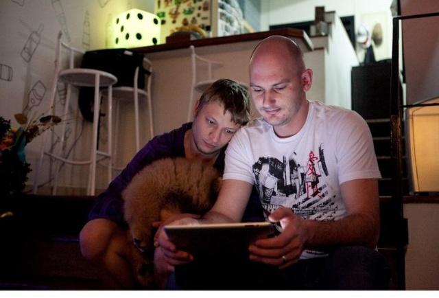 一对哈萨克斯坦 男同性恋 的巴西同居生活写真 组图图片