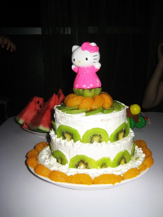 宝宝一周岁蛋糕图片