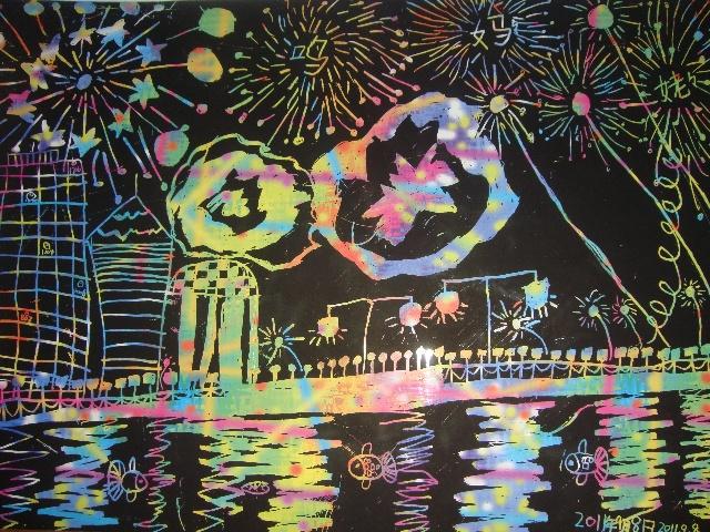 我的梦想游乐场画画