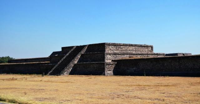 主要的遗迹是太阳金字塔