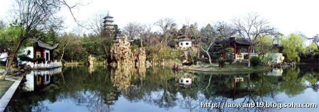 大明寺位于扬州城区西北郊蜀冈风景区之中